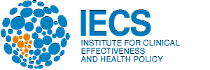Logo: Institute for Clinical Effectiveness and Health Policy (IECS)
