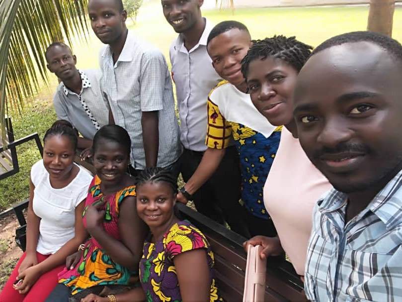 Trainers and Trainees in Ghana